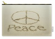 Beach Peace Carry-all Pouch