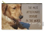 Beach Pup Quote Carry-all Pouch