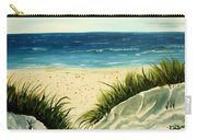 Beach Sand Dunes Acrylic Painting Carry-all Pouch