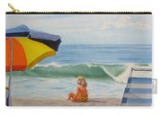 Beach Scene - Childhood Carry-all Pouch