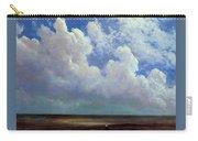 Beach Scene Albert Bierstadt Carry-all Pouch