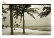 Beach Scene In Key West Carry-all Pouch
