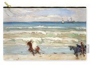 Beach Scene Tangier Carry-all Pouch