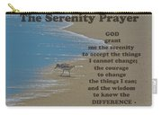 Beach Serenity Prayer Carry-all Pouch
