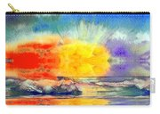 Beach Sunset Carry-all Pouch