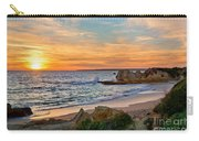 beach sunset Portugal Carry-all Pouch