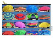 Beach Umbrella Medley Carry-all Pouch