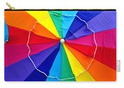 Beach Umbrella Panoramic Carry-all Pouch