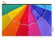 Beach Umbrella's Cell Phone Art Carry-all Pouch