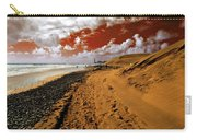 Beach Under A Blood Red Sky Carry-all Pouch