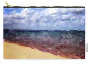 Beach Under Blue Skies Carry-all Pouch