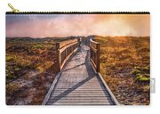 Beach Walk In The Dunes Carry-all Pouch