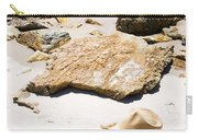 Beach Woman Carry-all Pouch by Jorgo Photography - Wall Art Gallery