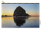Beachcombers By Haystack Rock In Cannon Beach Carry-all Pouch