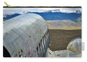 Beached Plane Wreckage - Iceland Carry-all Pouch