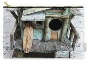 Beachfront Birdhouse For Rent 1 Carry-all Pouch