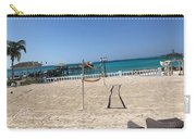 Beachfront Vollyball Carry-all Pouch