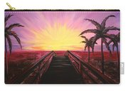 Beachside Sunset Carry-all Pouch