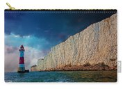 Beachy Head Lighthouse And Cliffs Carry-all Pouch