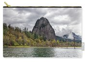 Beacon Rock At Columbia River Gorge Carry-all Pouch