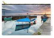 Beadnell Harbour Sunset Carry-all Pouch