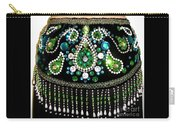 Beadwork And Rhinestones. Belly Dance Fashion Carry-all Pouch