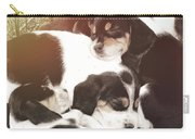 Beagle Pile Carry-all Pouch