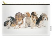 Beagle Puppies Carry-all Pouch