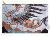 Beaked Dragon Flies Above The Sea Carry-all Pouch by Carol  Law Conklin