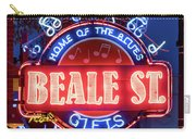 Beale Street Home Of The Blues Carry-all Pouch