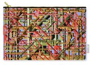 Beams Abstract Art Carry-all Pouch