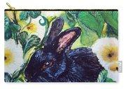 Bean The Magical Rabbit -pet Portrait Carry-all Pouch