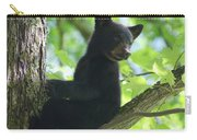 Bear Cub In Tree Carry-all Pouch