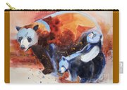 Bear Family Outing Carry-all Pouch