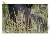 Bear In Tall Grass Carry-all Pouch
