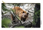Bear In Trees Carry-all Pouch