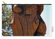 Bear In Wood Carry-all Pouch
