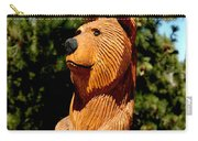 Bear In Woods Carry-all Pouch