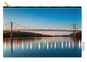 Bear Mountain Bridge At Dusk. Carry-all Pouch