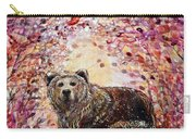 Bear With A Heart Of Gold Carry-all Pouch