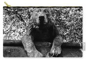 Bear On The Wall Carry-all Pouch