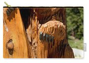 Bear On Trail Carry-all Pouch