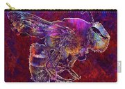 Bearded Bee Macro Insect Nature  Carry-all Pouch