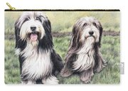 Bearded Collies Carry-all Pouch