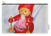 Bearded Elf On Skis Carry-all Pouch