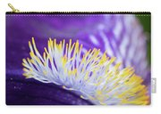 Bearded Iris Macro Carry-all Pouch