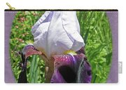 Bearded Iris Blossom Carry-all Pouch