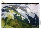 Beargrass Flower On The Slopes Of Mt. Hood Carry-all Pouch