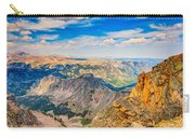 Beartooth Highway Scenic View Carry-all Pouch