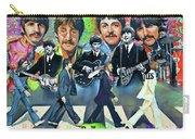 Beatles Fan Art Carry-all Pouch